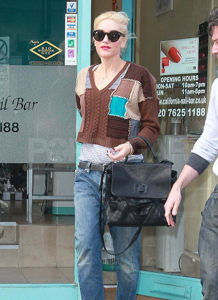 Gwen Stefani in London.