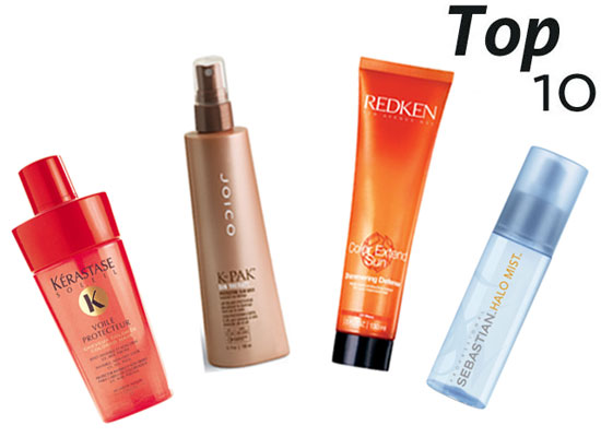 10 of the Best: Haircare Products With UV Protection