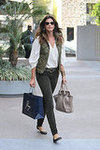Cindy Crawford at Paige Denim