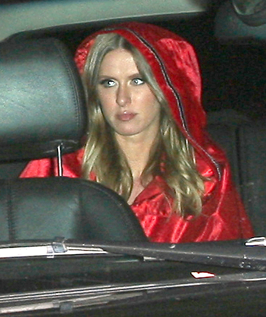 Nicky Hilton at Kate Hudson's Halloween party.