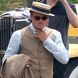 Leonardo DiCaprio Filming The Great Gatsby Pictures