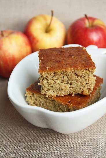 Gluten free apple garbanzo cake