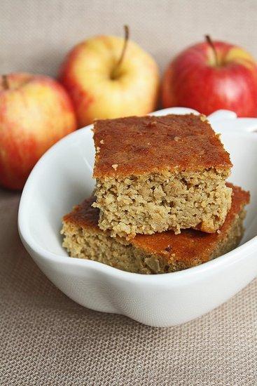 Gluten free apple garbanzo cake