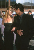 Julia Roberts and then-boyfriend Benjamin Bratt looked lovingly into each other's eyes at the 1999 premiere of The Runaway Bride.