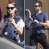 Natalie Portman and Benjamin Millepied Spend Their Saturday at Service With Aleph