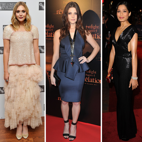 Red Carpet Roundup: Gorgeous Looks From the Weekend's Movie Premieres
