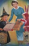 Those were the days. When moms handed out whole candy bars, not skimpy minis!