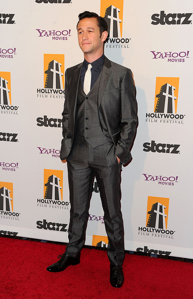 Joseph Gordon-Levitt attended the 2011 Hollywood Film Awards.