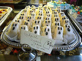 Ghoulish Ghost Cakes