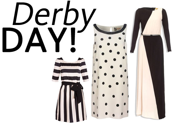 Shop Our Top Ten Black and White Dress Edit for Derby Day!