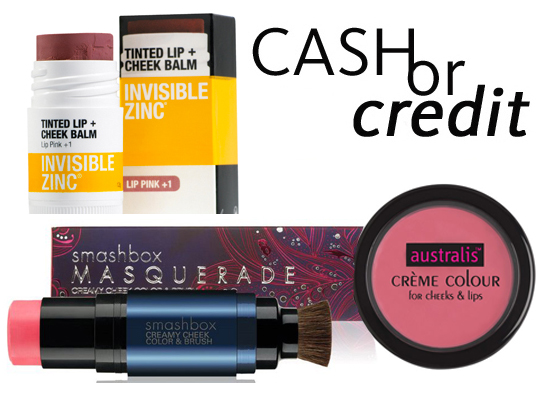 Cash or Credit: Cream Blushes to Put a Spring in Your Step