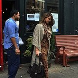 Jessica Alba Eats at Bubby&#039;s Pie Company NYC
