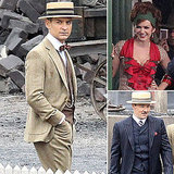First Look: Tobey Maguire, Isla Fisher, and Joel Edgerton on the Set of The Great Gatsby