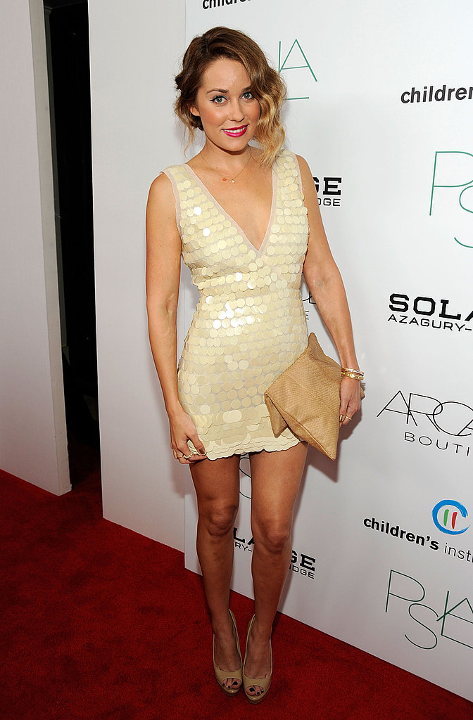 Lauren Conrad at Yigal Azrouel fashion show in LA.