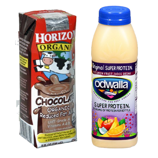 Chocolate Milk or Protein Shakes