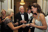 Kate Middleton meets up with friends at a Clarence House bash.