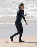 Courteney Cox in Malibu.