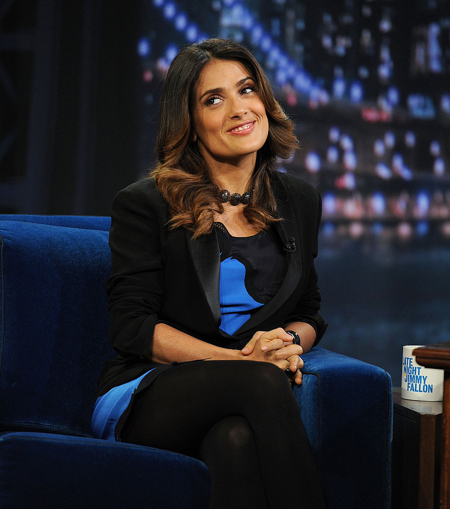 Salma Hayek talked about her new movie.