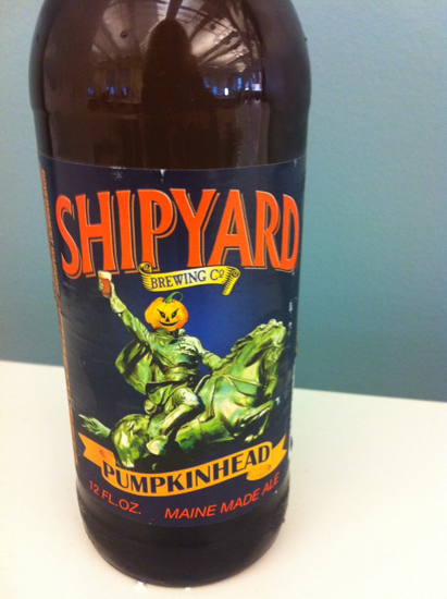 Shipyard Pumpkinhead Ale