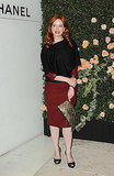 Christina Hendricks partied at Chanel.