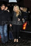 Jessica Simpson and Ashlee Simpson headed to dinner in NYC.