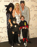 Britney Spears Shares Halloween Family Portrait in London!
