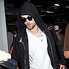 Robert Pattinson at LAX on Halloween Pictures