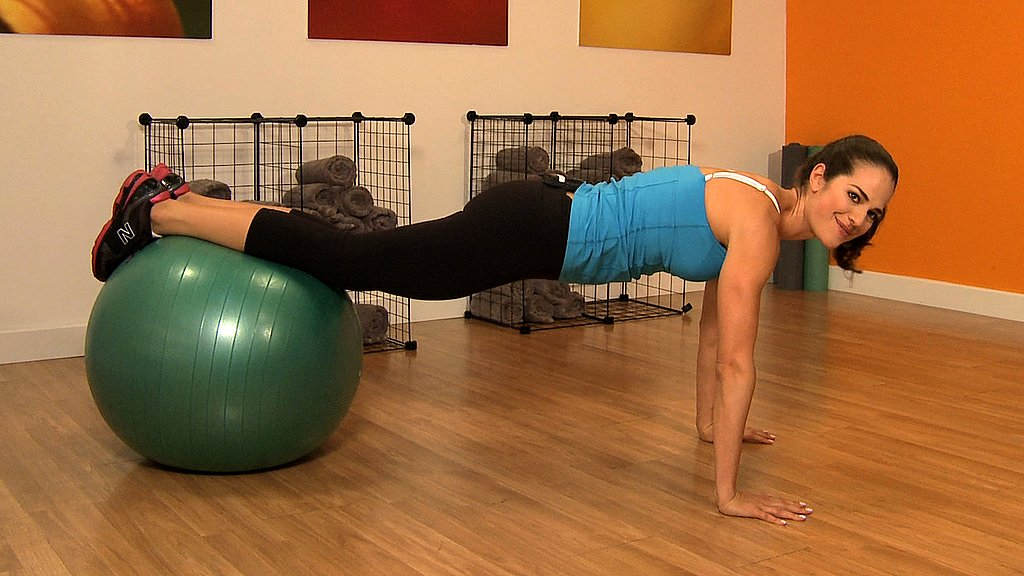 Easy Knee-Tuck Crunches