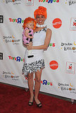 Melissa Rycroft and her daughter Ava Grace Strickland are adorable as Wilma Flintstone and Pebbles!
