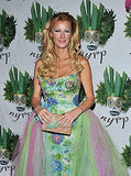 TV chef Sandra Lee is pretty as a princess at Bette Midler's soiree.