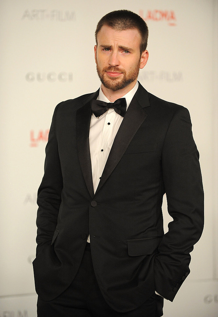 Gucci model Chris Evans.