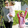 Jennifer Garner Pictures at Ballet With Seraphina and Violet