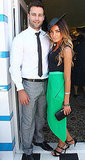 Jimmy Bartel and Nadia Coppolino