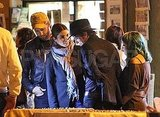 Nikki Reed and Paul McDonald with Jackson Rathbone in Rome.