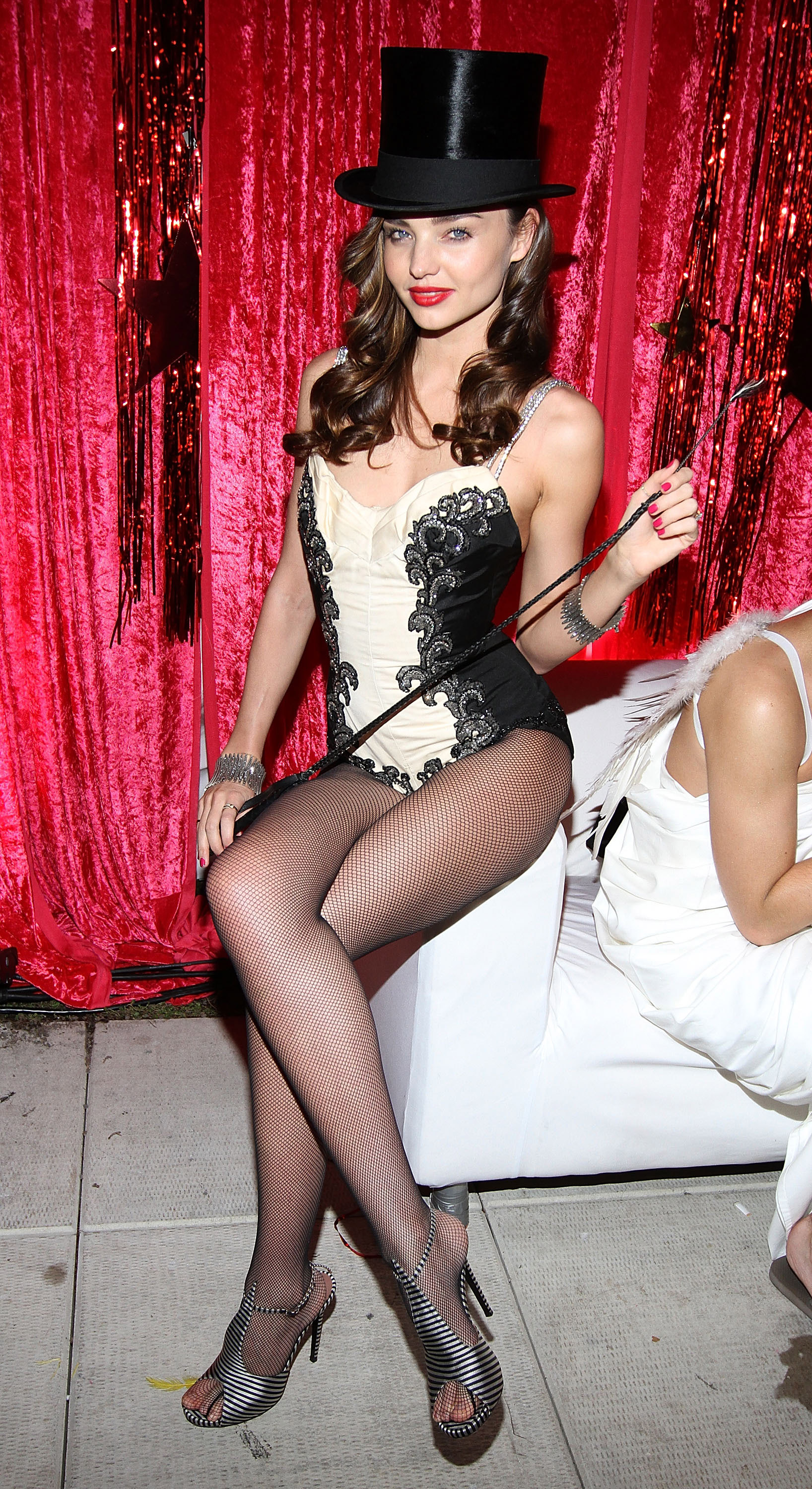 Miranda Kerr was a circus performer for Halloween.