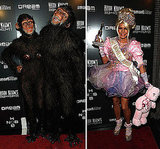 Heidi Klum and Husband Seal Monkey Around at Their Halloween Bash