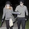 Pregnant Hilary Duff and Husband in Robber Costumes Pictures