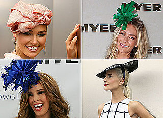 Pictures of Celebrities Wearing Hats and Fascinators at the 2011 Melbourne Cup: See the Best Hatted Styles on the Field!