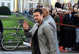 Justin Timberlake was in Germany to promote In Time.