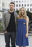 Amanda Seyfried and Justin Timberlake posed for pictures in Berlin.