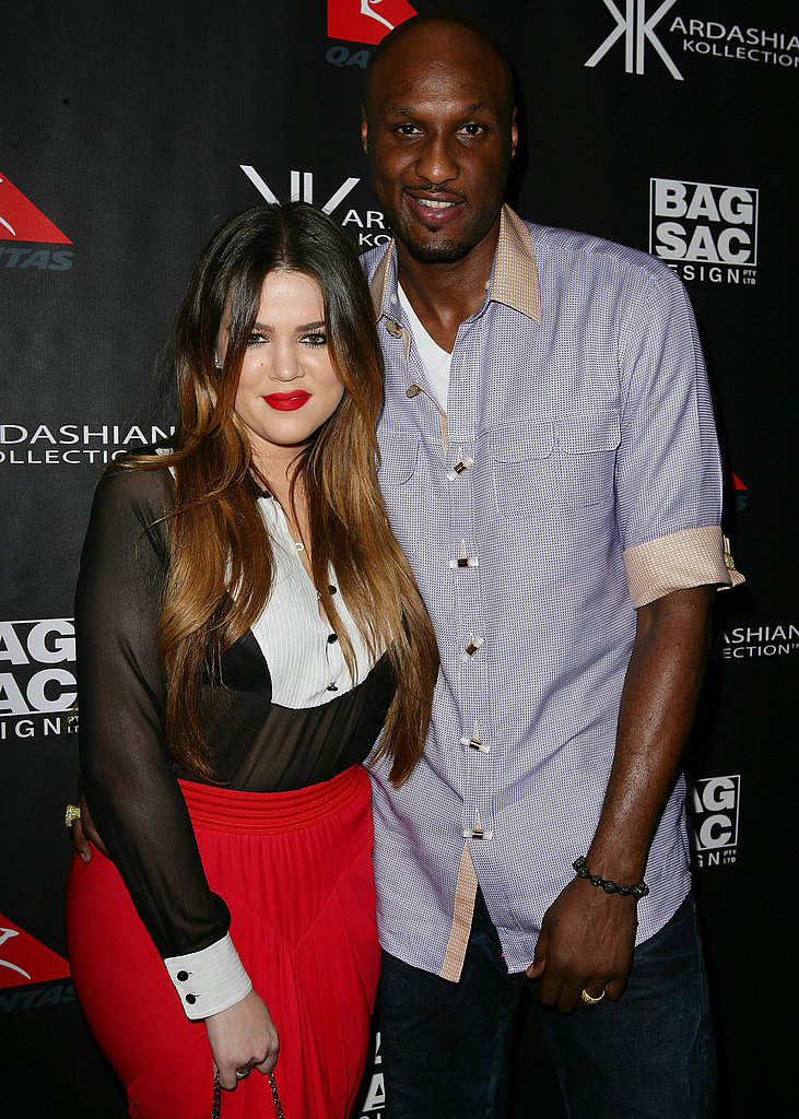 Khloe Kardashian and Lamar Odom were happy together in Sydney.