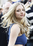 Amanda Seyfried tossed her hair.