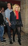 Britney Spears and Jason Trawick went to a show together in London.