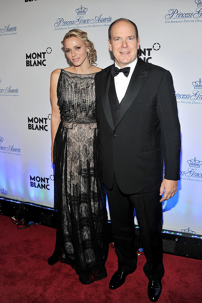 Prince Albert and Princess Charlene at the Princess Grace Awards Gala.