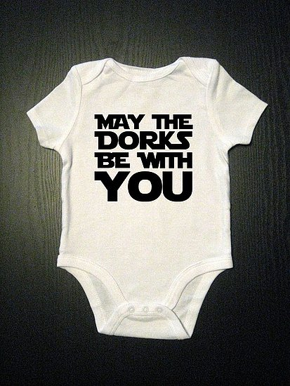 May the Dorks Be With You Romper