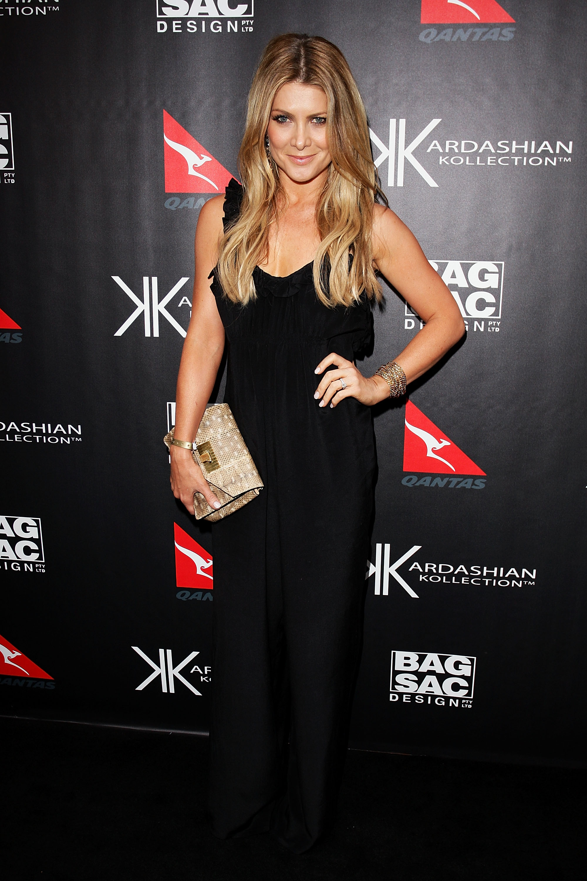 Natalie Bassingthwaighte at the Kardashian Kollection launch.