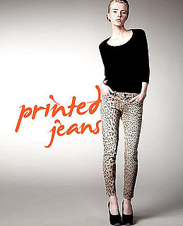 How to Wear Printed Jeans