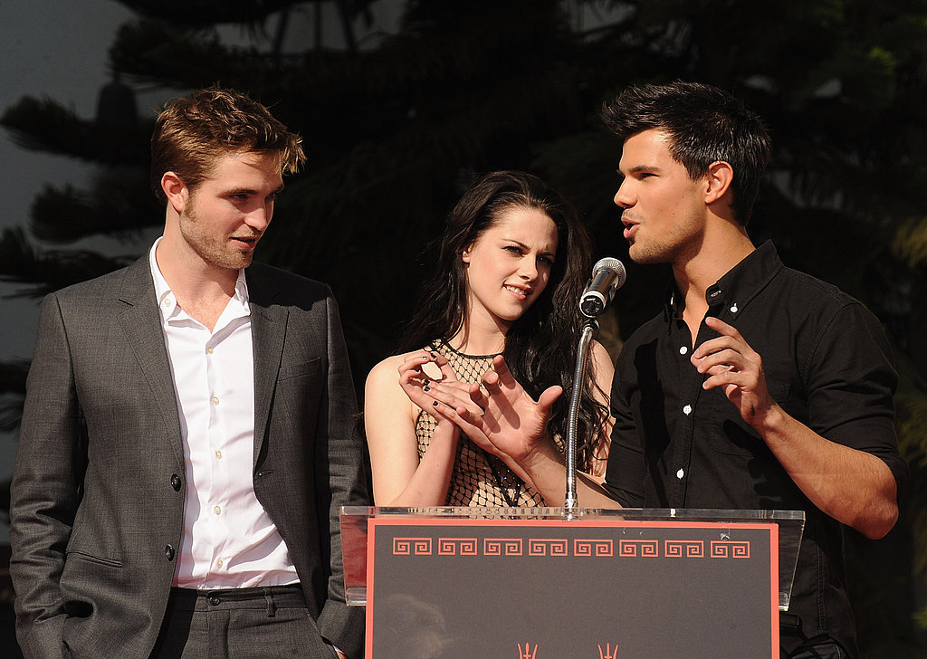 Taylor Lautner spoke about his dream to have his hands on the Walk of Fame.