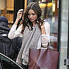 Miranda Kerr With Red Bag Pictures in NYC