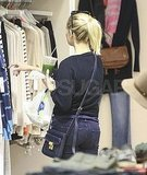 Reese Witherspoon shopping in Beverly Hills.